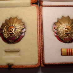 Lot Ordinul Muncii Clasa a 3 a RPR si RSR la cutie