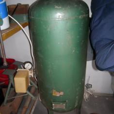 Rezervor de 80L pe perna de aer pentru hidrofor Electrometal Timisoara 1987 - Vas termic expansiune
