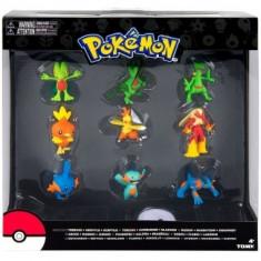 Pokemon Evolution: Treecko, Torchic & Mudkip, set 9 minifigurine - Figurina Desene animate