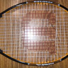 Racheta de tenis Wilson Stop shock sleeves Titanium XL marime 4 1/2 - Racheta tenis de camp