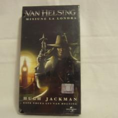 Vand caseta video Van Helsing-Misune la Londra, sigilată, originală, cu hologramă - Film actiune, Romana