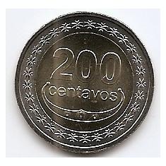 Timor 200 Centavos 2017 - Buffalo, Bimetalic, 25.5 mm KM-UNC !!!, Asia