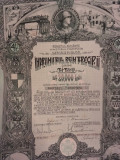 Imprumutul Reintregirii 20 000 lei obligatiune 1941