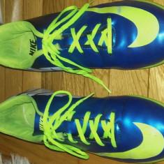 Ghete fotbal Nike Mercurial nr.41-42 pt.teren sintetic, Marime: 41.5, Culoare: Albastru