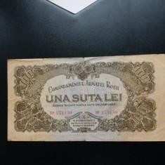 Bancnote romanesti100lei car vf - Bancnota romaneasca