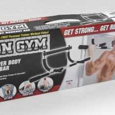 Bara tractiuni demontabila pt tocul usii - permite 3 tipuri de priza - Iron Gym