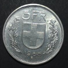 Elvetia 5 francs 1968 2 aUNC, Europa