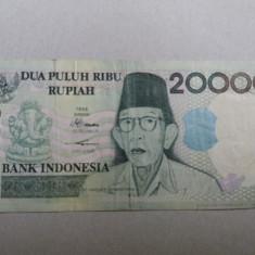 Indonezia 20000 rupiah 1998