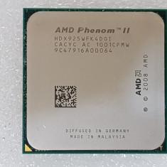 Procesor AMD Phenom II X4 925 HDX925WFK4DGI AM3 - poze reale - Procesor PC AMD, Numar nuclee: 4, 2.5-3.0 GHz