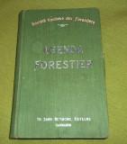 Agenda et aide-memoire forestier 1908 (Lausanne)