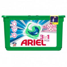 Detergent capsule Ariel 3in1 Pods Touch of Lenor - 39 spalari - Detergent rufe