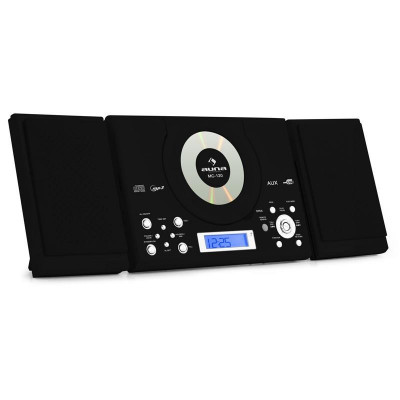 Sistem stereo Auna MC-120 Hi-Fi MP3 CD Player USB, negru foto