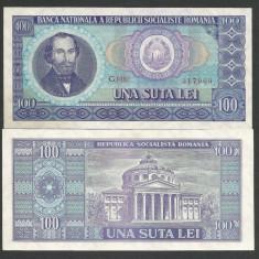 ROMANIA 100 LEI 1966 [01] UNC, necirculata - Bancnota romaneasca