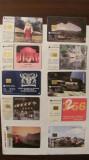 PVM - Lot 10 cartele telefonice Romania (8 x ROMTELECOM) + straine (x2) diferite