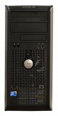 Calculator Dell Optiplex 760 Tower, Intel Core 2 Duo E8400 3.0 GHz, 2 GB DDR2, 250 GB HDD SATA, DVDRW, Windows 7 Professional foto