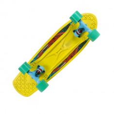 Penny board Powerslide Choke Supercruiser Spicy Sabrina Galben - Skateboard