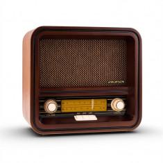 Auna Belle Epoque 1901 radio retro, radio nostalgic, FM, AM, USB, MP3 - Aparat radio