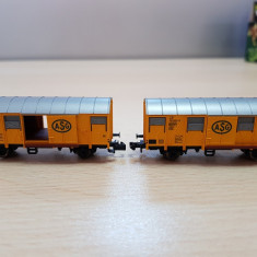 Accesorii diorama - Vagon marfa - scara N