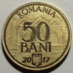 """50 Bani 2017 """"10 Ani de la Aderarea la Uniunea Europeana"""", Romania UNC - Moneda Romania"""
