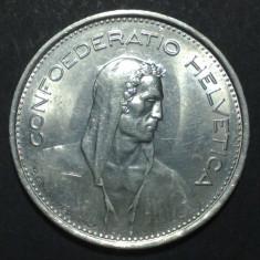 Elvetia 5 francs 1968 3 aUNC, Europa