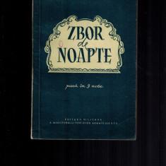 Nicolae Tautu - Zbor de noapte, teatru, raritate - Carte Epoca de aur