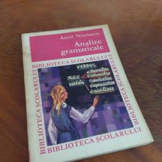 Analize Gramaticale - Aurel Nicolescu - Culegere Romana