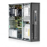 Calculator HP EliteDesk 800 G1 Desktop, Intel Core i5 Gen 4 4570 3.2 GHz, 4 GB DDR3, 250 GB HDD SATA, DVDRW