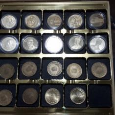 Lot monezi 50 bani aniversare Proof, UNC si de circulatie - Moneda Romania