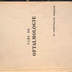 Curs de oftalmologie - Dr. Dumitrache Marieta (Facultatea de Stomatologie, 1989) - Curs Medicina