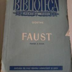 Goethe - Faust vol.II - Carte Teatru