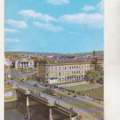 Bnk cp Oradea - Vedere spre Teatrul de stat - circulata - Carte Postala Crisana dupa 1918, Printata