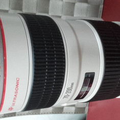 Obiectiv Canon EF 70-200mm 1:2.8 L IS II USM Ultrasonic - Obiectiv DSLR