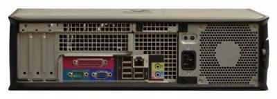 Calculator Dell Optiplex 780 Desktop, Intel Pentium Dual Core E5500 2.8 GHz, 2 GB DDR3, 160 GB HDD SATA, DVD, Windows 10 Pro, 3 Ani Garantie foto
