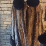 Haina din blana de nurca - haina de blana