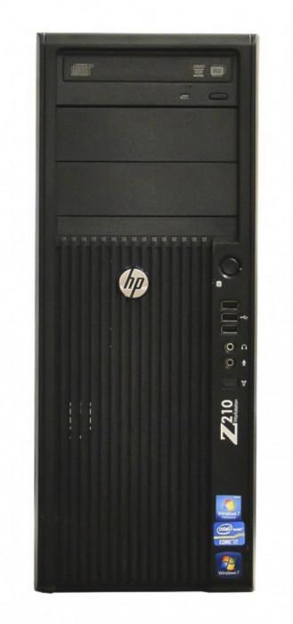 Workstation HP Z210 Tower, Intel Core i3 Gen 2 2100 3.1 GHz, 4 GB DDR3, 250 GB HDD SATA, DVDRW foto mare