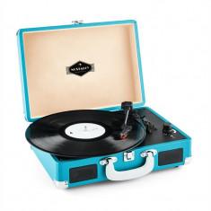 Auna Peggy Sue placa turnanta Retro CG USB albastra - Pickup audio