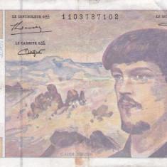 FRANTA 20 francs 1993 VF!!! - bancnota europa