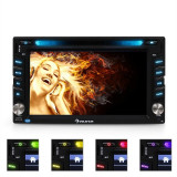 Radio Auna MVD-480 DVD CD MP3 USB SD AUX 6.2'' bluetooth