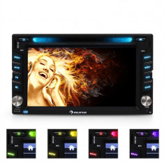 Radio Auna MVD-480 DVD CD MP3 USB SD AUX 6.2'' bluetooth - DVD Player auto