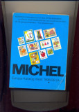 Catalog Michel WEST 1998/1999,lista tarilor A-L,1820 file,poze alb-negru.