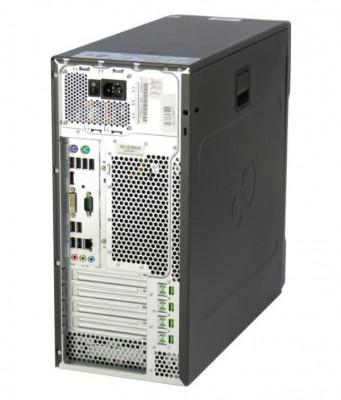 Calculator Fujitsu Esprimo P710 E85+ Tower, Intel Core i3 Gen 3 3220 3.3 GHz, 4 GB DDR3, 500 GB HDD SATA, DVDRW, Windows 10 Home, 3 Ani Garantie foto
