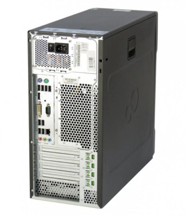 Calculator Fujitsu Esprimo P710 E85+ Tower, Intel Core i3 Gen 3 3220 3.3 GHz, 4 GB DDR3, 500 GB HDD SATA, DVDRW, Windows 10 Home, 3 Ani Garantie foto mare
