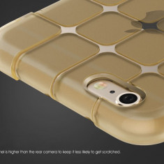 Husa Silicon, Magic Cube, Auriu, Samsung Galaxy Grand Prime - Husa Telefon