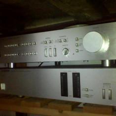 Statie amplificator + preamplificator HARMAN KARDON SILVER - Amplificator audio