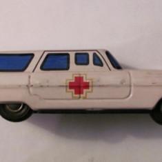PVM - Ambulanta masinuta masina tabla veche fabricata in China - Colectii