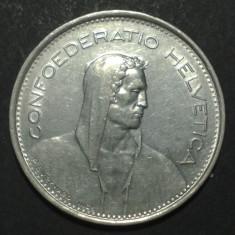 Elvetia 5 francs 1970 aUNC, Europa