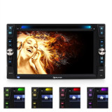 Radio Auna MVD-481 DVD CD MP3 USB SD AUX 6.2'' bluetooth