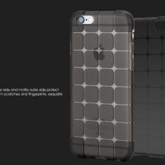 Husa Silicon, Magic Cube, Negru, Samsung Galaxy S4
