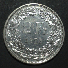 Elvetia 2 francs 1973 aUNC, Europa
