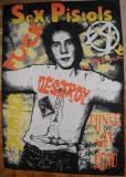 Steag marime clasica cu Sex Pistols - punk,rock